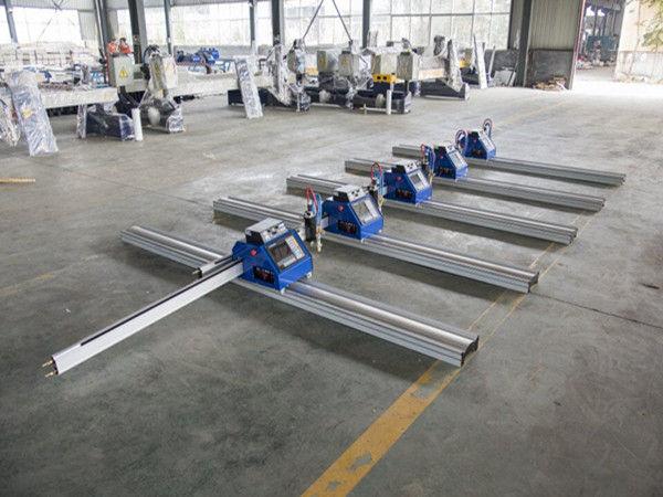 180W Portable CNC Plasma Cutting Machine untuk memotong logam tebal 6 - 150mm