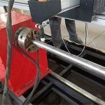 2018 tipe baru portabel mesin pemotong pipa logam plasma, cnc logam tabung mesin pemotong