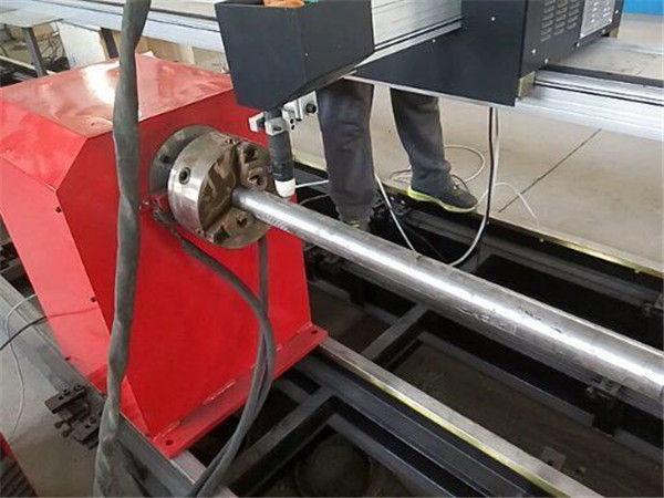 2017 Baru jenis Portabel Plasma Logam mesin pemotong Pipa, CNC logam tabung mesin pemotong
