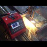 2017 top kualitas CE sertifikasi portabel pemotong logam cnc plasma mesin pemotong murah