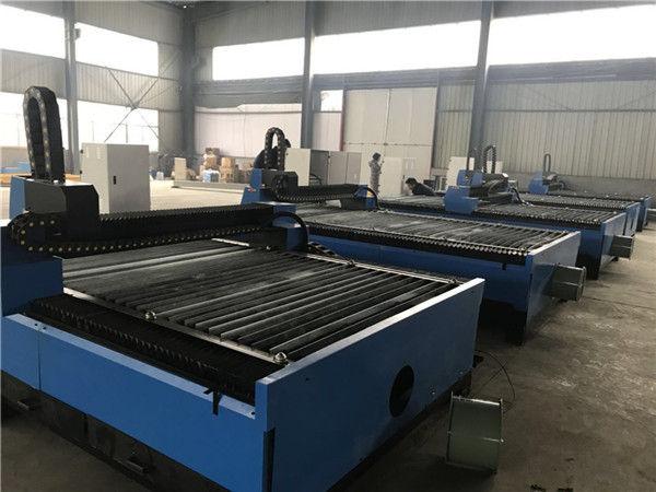 Alibaba china lembaran logam pelat cnc plasma cutter mesin pemotong plasma 1325 untuk stainless steel