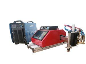 otomatis portabel cnc plasma mesin pemotong baja aluminium stainless