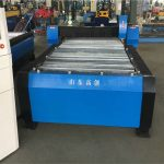 China 100a plasma cutting cnc mesin 10mm plat logam