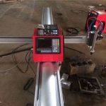 kualitas tinggi portabel cnc api / mini logam portabel cnc plasma mesin pemotong