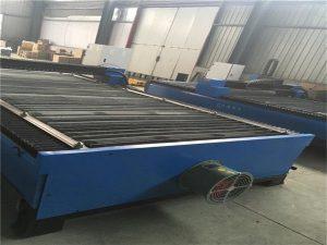 penjualan panas lembaran logam stainless steel baja karbon 100 cnc plasma cutter 120 mesin pemotong plasma