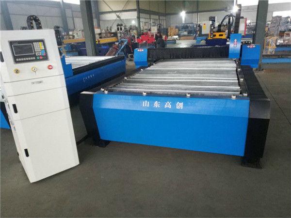 Jinan CE Profesi 1325 Mesin Pemotong Plasma CNC Kecil
