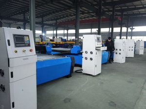 Jinan lembaran logam mesin pemotong cnc plasma cutter harga 1325 murah