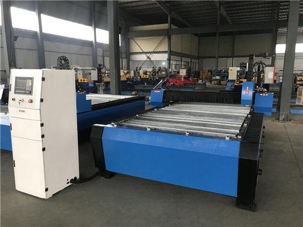 Besar 20006000mm CNC Lembaran Logam Pipa Plasma Cutting Drilling Machine