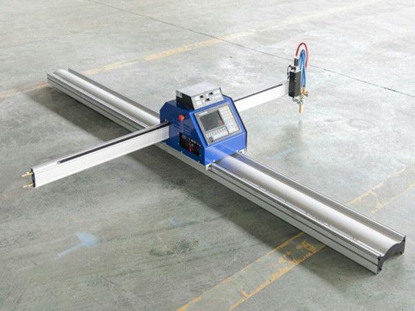 Biaya rendah Pelat Baja Kecil Mesin Pemotong Api Plasma CNC