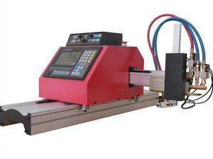 profil baja tabung persegi multifungsi cnc api / plasma mesin pemotong kualitas tinggi