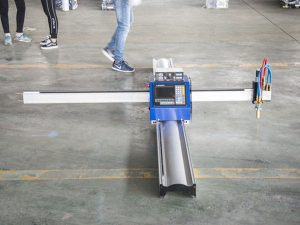 Teknologi baru tipe portable cnc plasma cutting harga mesin bisnis manufaktur kecil