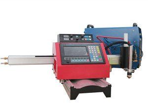 portabel cnc plasma mesin pemotong otomatis mesin pemotong gas track baja