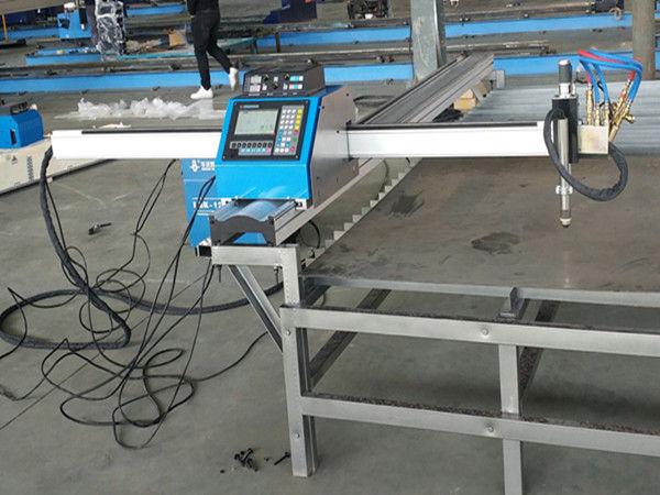 Portabel cnc plasma mesin pemotong harga ekonomis Mesin Pemotong Logam