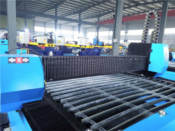 Praktis dan ekonomis presisi tinggi, mesin pengolahan logam, dapat ditransportasikan dengan CNC Mesin Pemotong plasma Zk1530