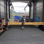 mesin cnc plasma cutting presisi akurat 13000mm motor servo