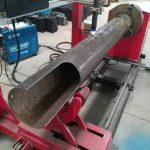 berputar poros cnc lingkaran tabung biaya rendah cnc mesin pemotong plasma