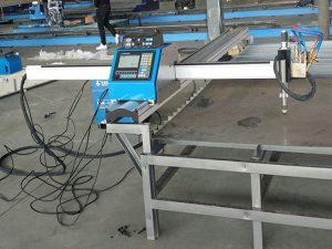 pemotong kecil portabel cnc plasma / mesin pemotong gas