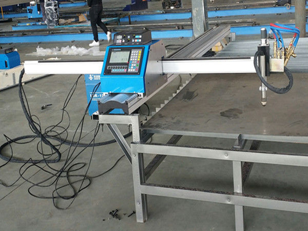 Pemotong kecil portabel cnc mesin pemotong gas plasma