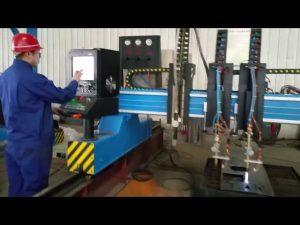 cnc mesin pemotong api gantry