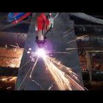 Biaya rendah cnc mesin pemotong plasma besi batang mesin pemotong lingkaran mesin pemotong