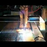 biaya rendah pemotong plasma baja lembaran cnc mesin pemotong plasma kecil