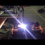 Biaya rendah portabel cnc gas plasma mesin pemotong