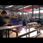 mesin pemotong plasma CNC kantilever portabel