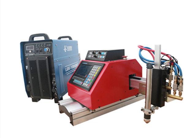 plasma cnc portabel, gas, api, mesin pemotong lembaran logam oxgen dengan THC