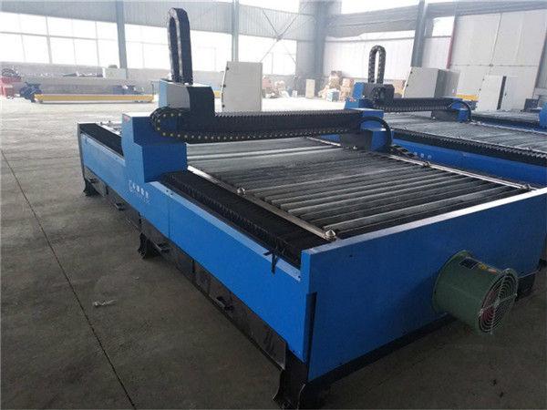 profesional pabrik penjualan langsung aluminium anodized aluminium kode G cnc mesin pemotong plasma