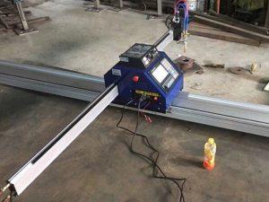Kecil plat cnc mesin pemotong plasma 1530 Portabel CNC Logam PlasmaFlame lembaran logam Mesin Pemotong Pemotong untuk Dijual
