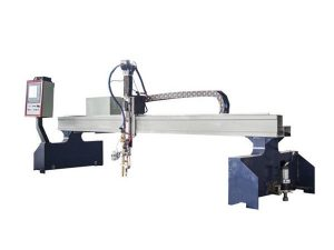 gantry kecil cnc mesin pemotong logam pantograph plasma cutter